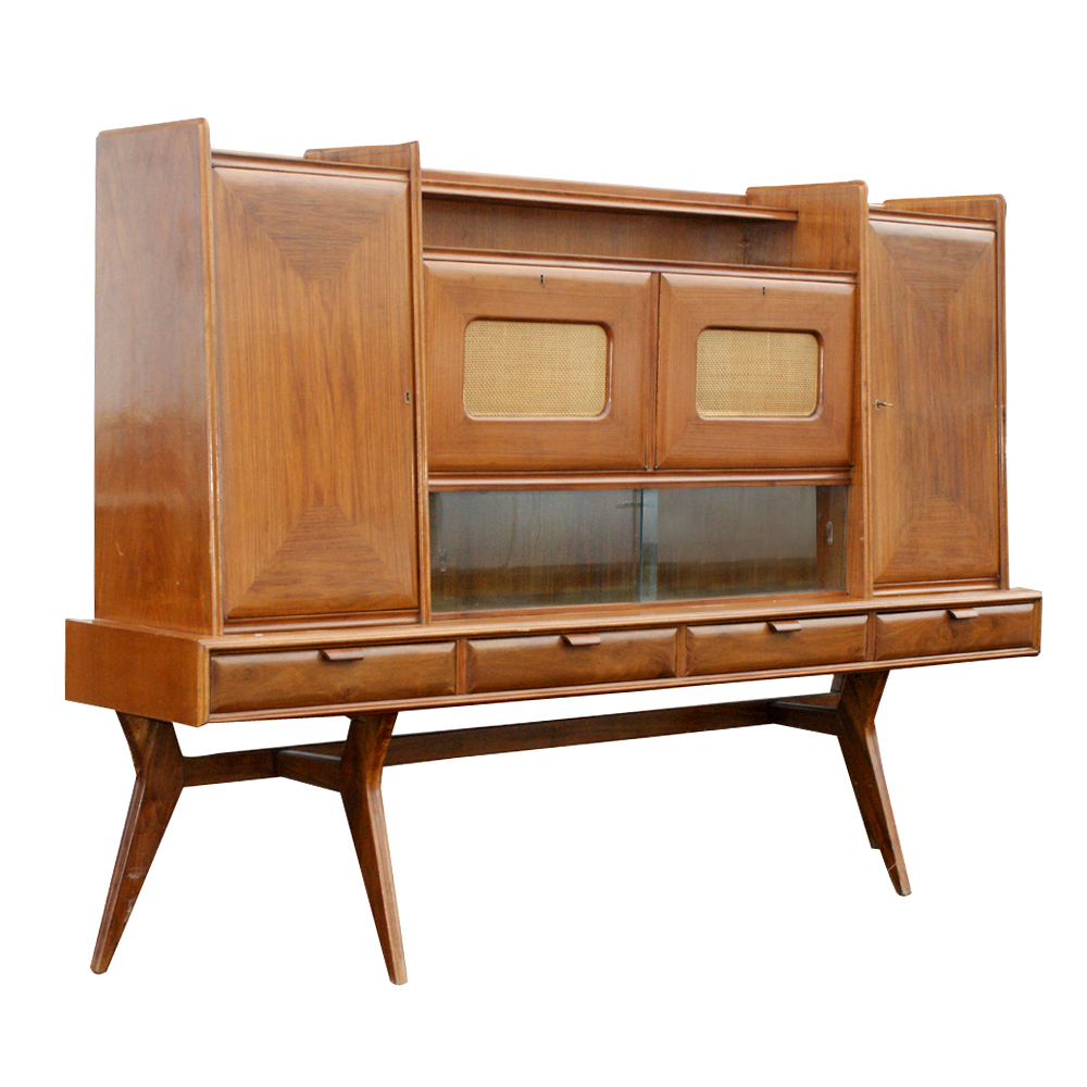 Midcentury Retro Style Modern Architectural Vintage Furniture From  # Buffet Bas Long Bureau