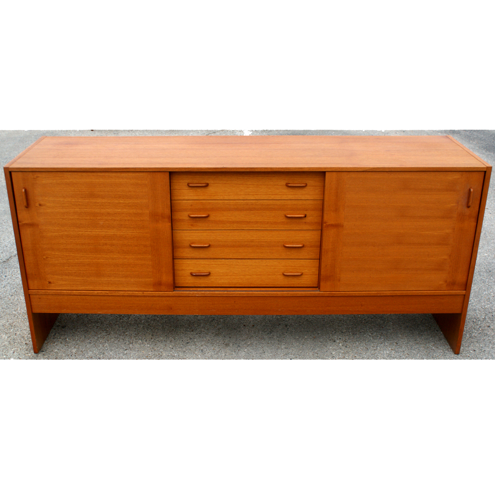 72 vintage scandinavian teak buffet price reduced ebay for Sideboard scandi