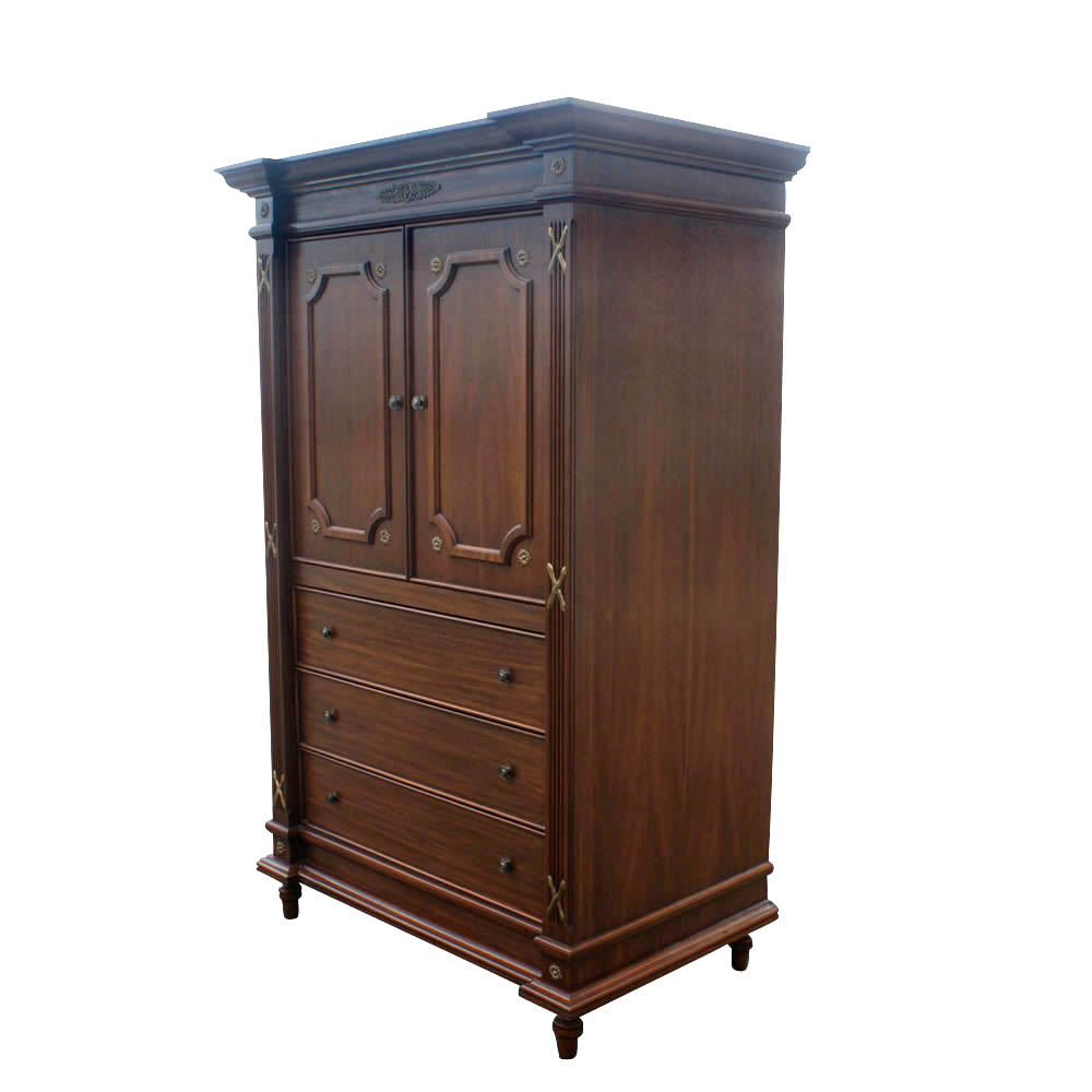 28 traditional armoire michael amini tuscano. Black Bedroom Furniture Sets. Home Design Ideas