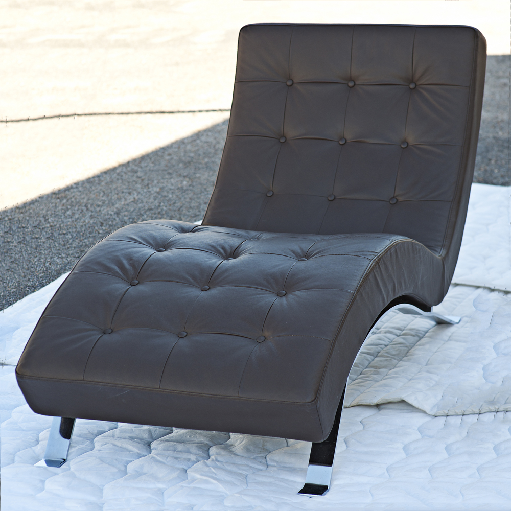 contemporary chaise lounge contemporary barcelona style chaise lounge ebay contemporary. Black Bedroom Furniture Sets. Home Design Ideas