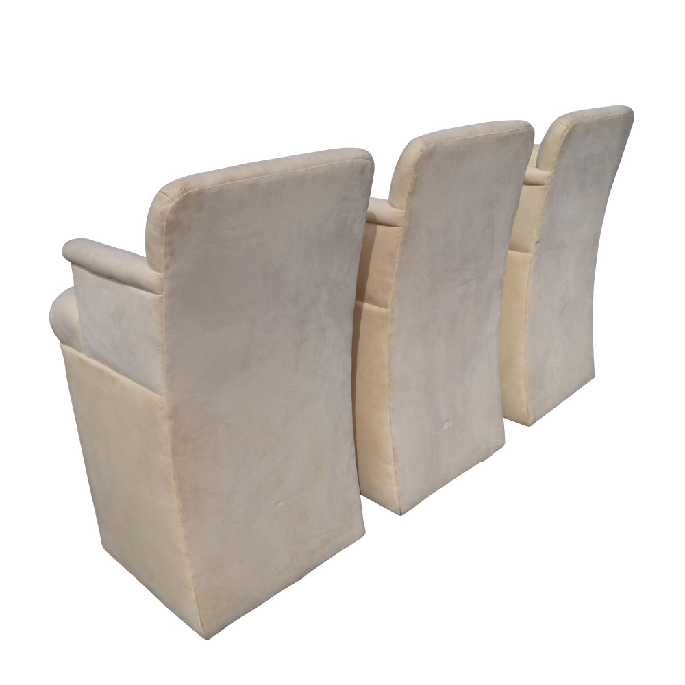 upholstered bar stools with arms