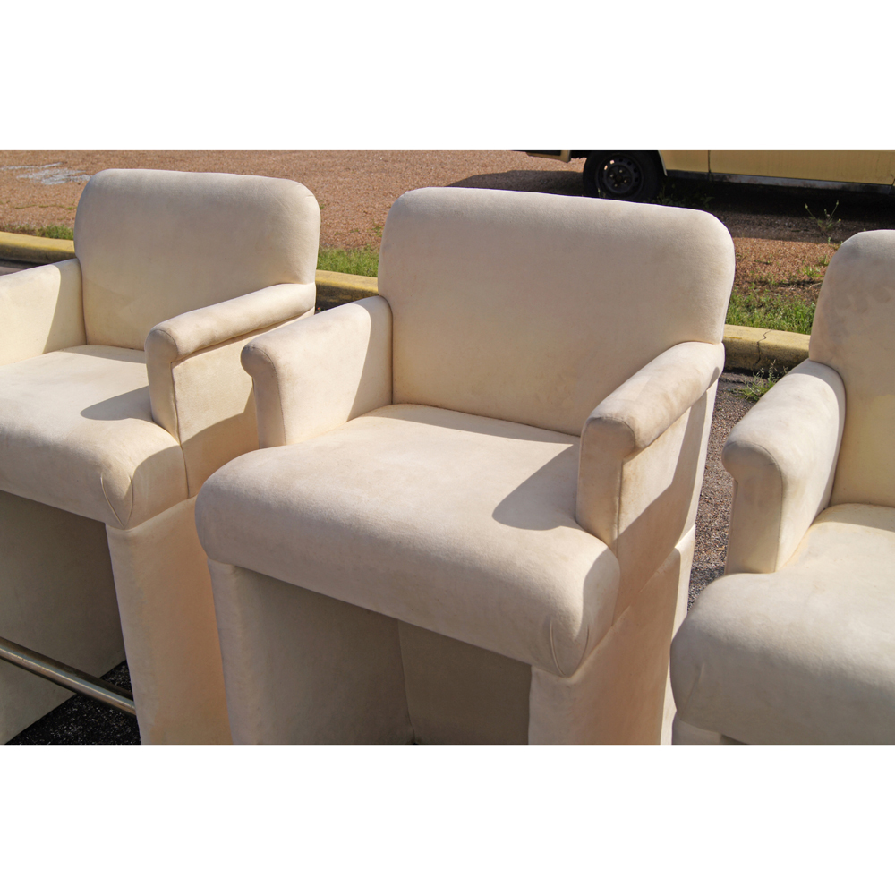 Upholstered Bar Chairs With Arms Hickory Bar Chairs With