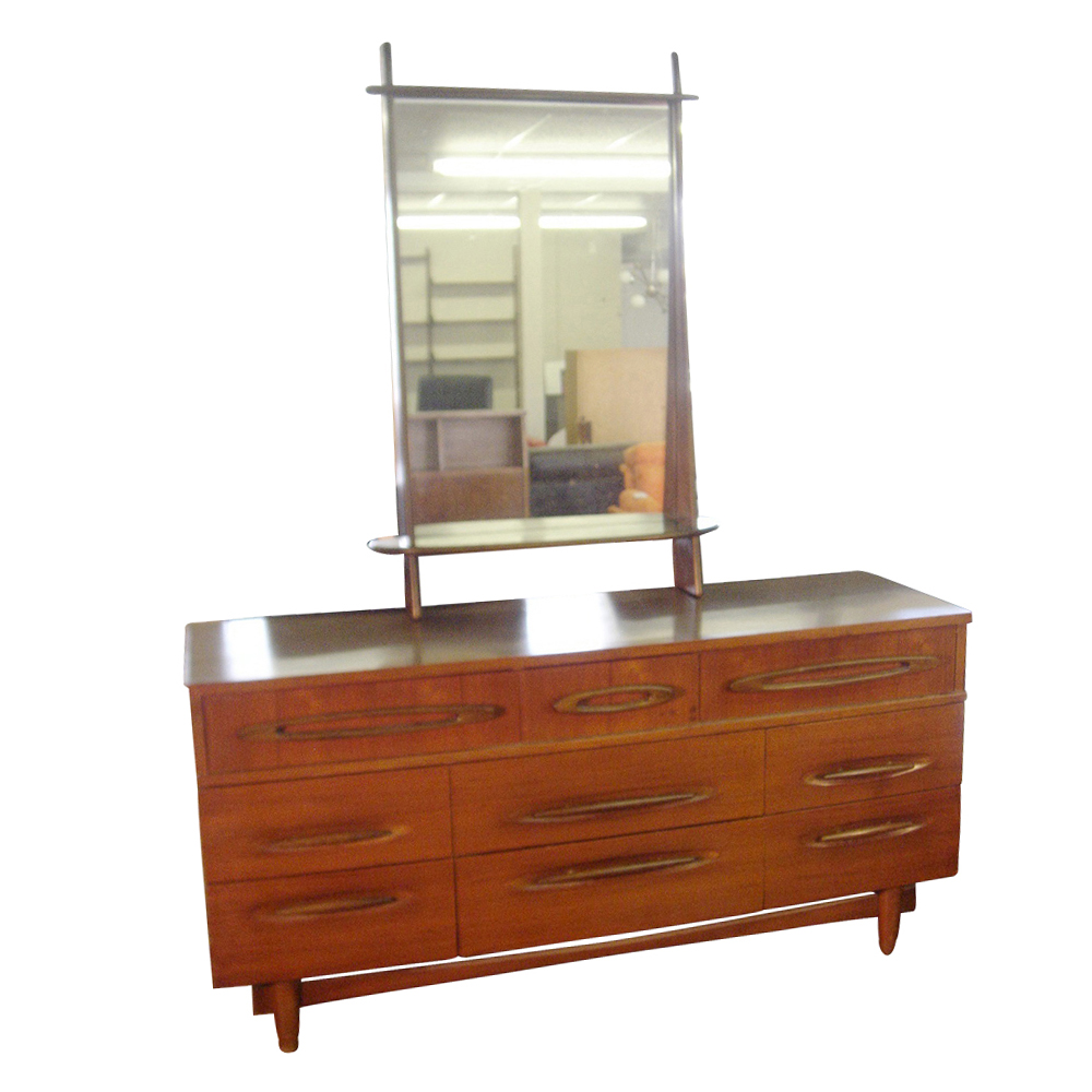 set of 1950 s bedroom furniture available consisting of a bed
