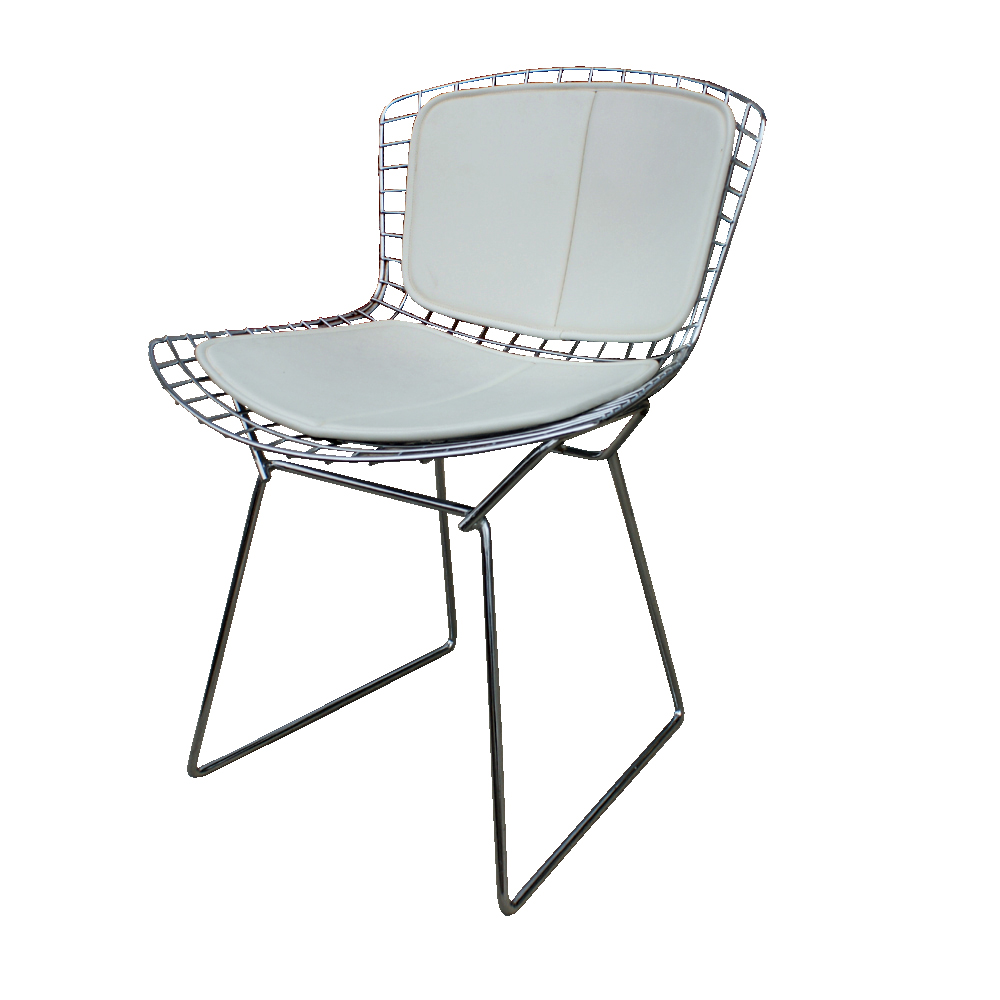 Metro retro furniture 1 knoll harry bertoia side chair - Knoll life chair parts ...