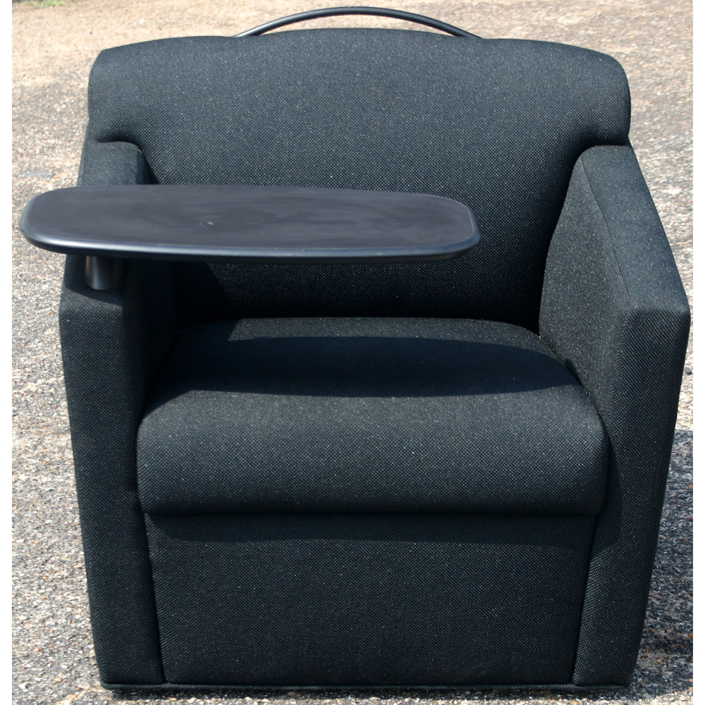 Brayton International Black Club Chair With Tray Ebay