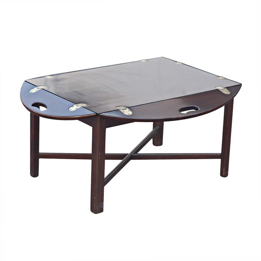Butler 39 S Folding Tray Drop Side Coffee Table Ebay