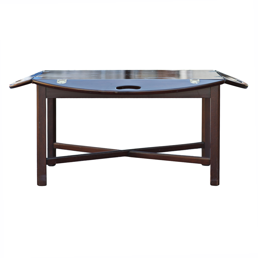 Butler Tray Coffee Table Midcentury Retro Style Modern Architectural Vintage Furniture From