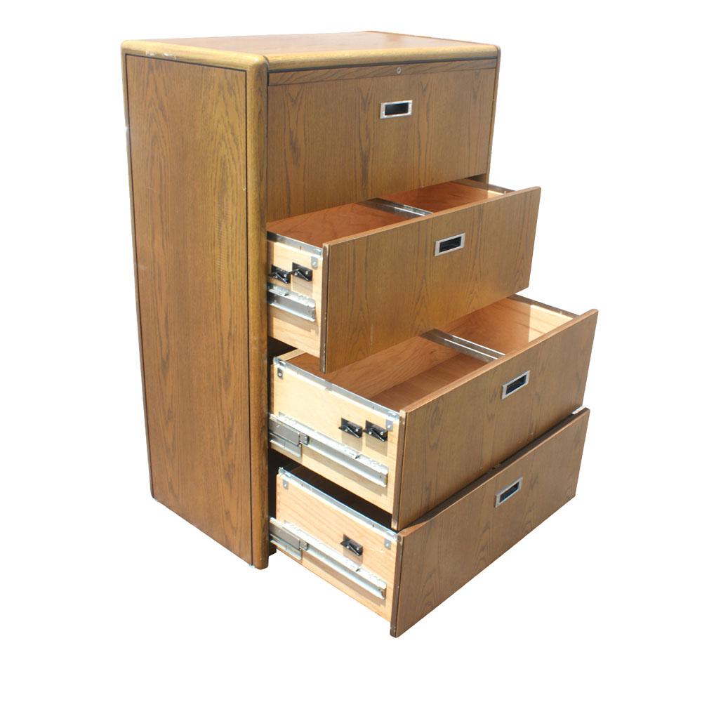 Excellent Four Drawer Wood File Cabinet Four Drawer File Cabinet Cutout  Wood