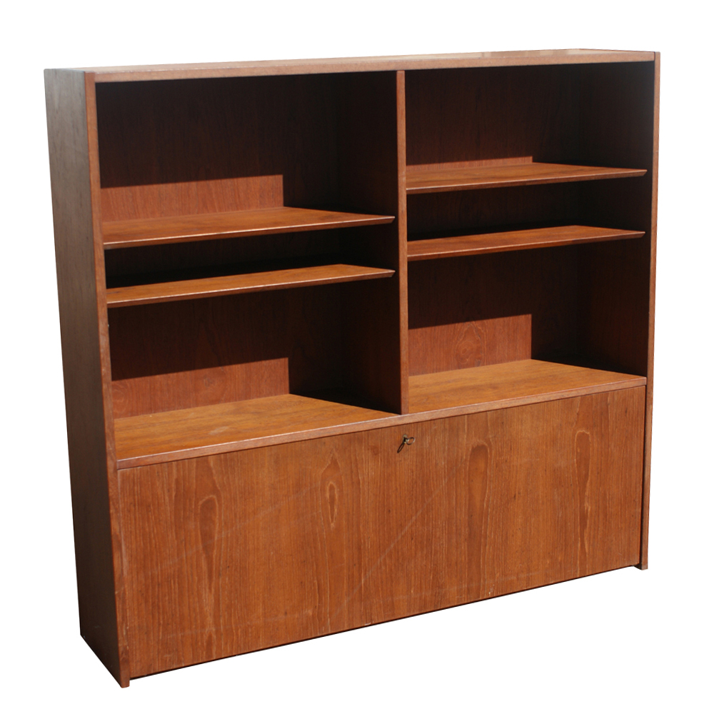 soberg mobler peter hvidt vintage danish bookcase designed by peter ...