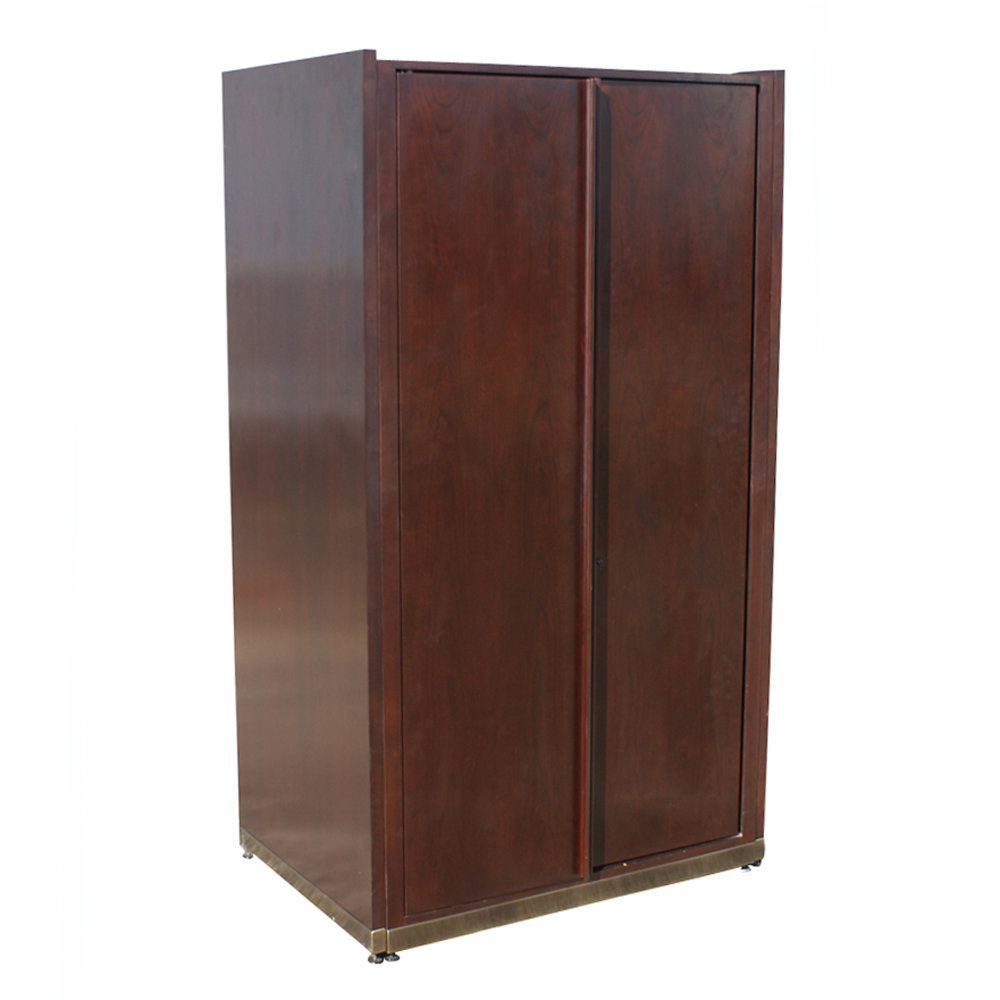 68 tall vintage mahogany cabinet unit file drawers ebay for Kitchen drawers and cupboards