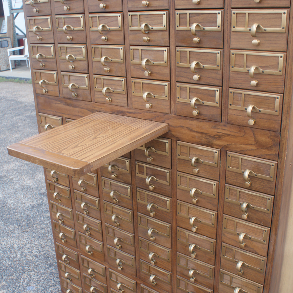 Lastest  565quot Vintage Industrial Age Wood Filing Cabinet  Wood Duck Press