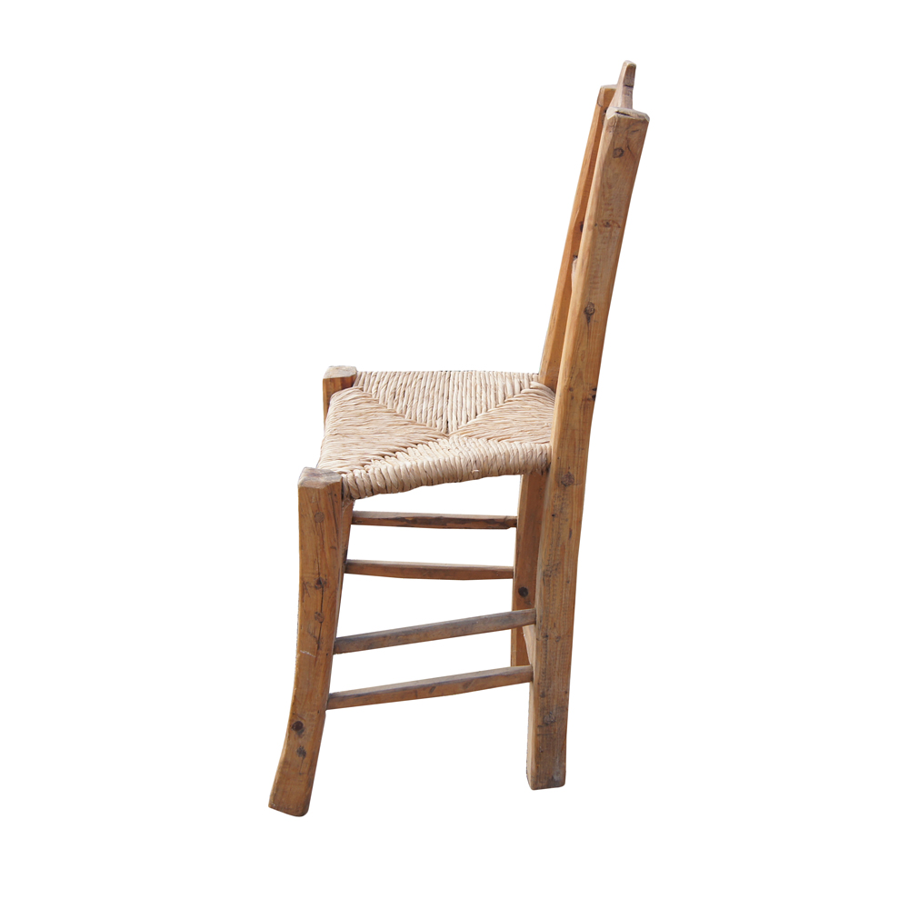 wood and cane dining chair hand carved wood frame cane weaved seat