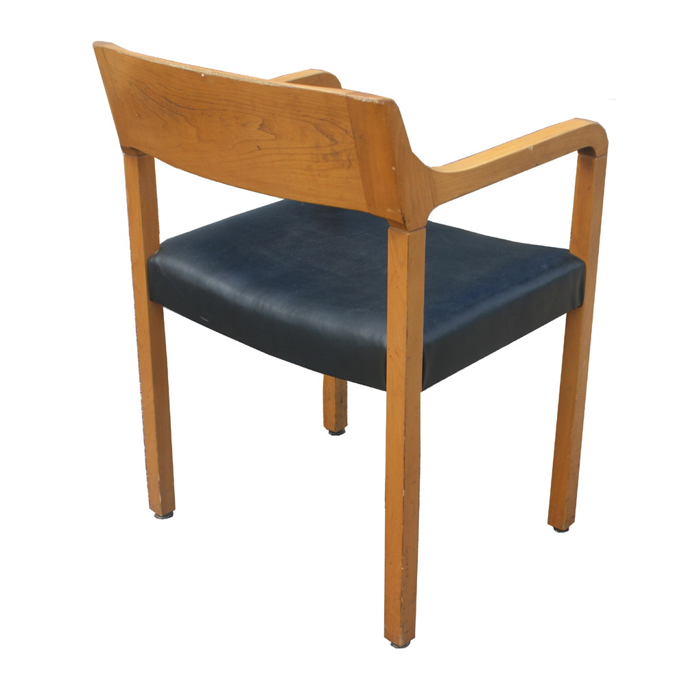 Mid Century Modern Wood Chair ~ Mid century modern krug wood arm chairs ebay