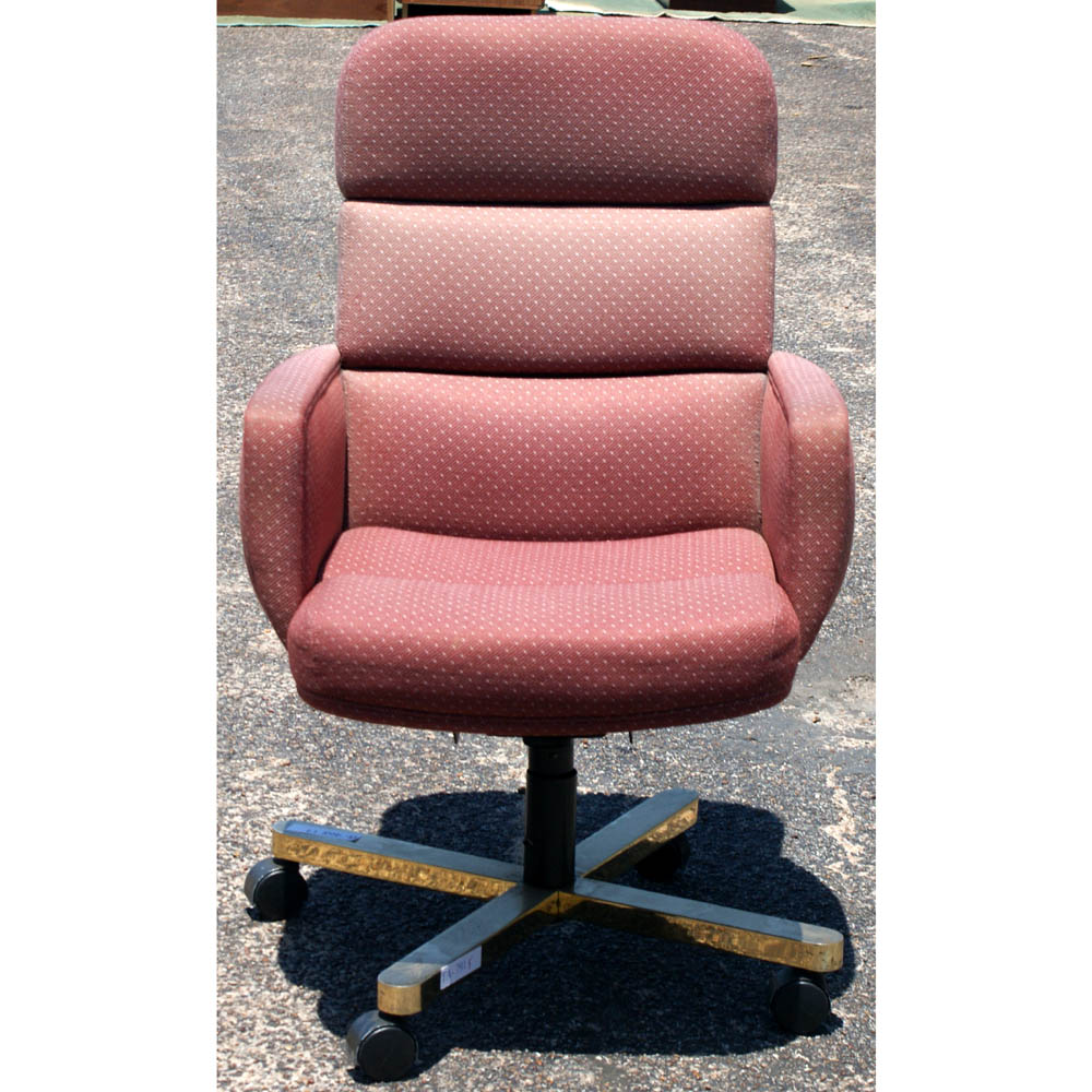 harter furniture set of 6 harter office chairs country rose upholstery