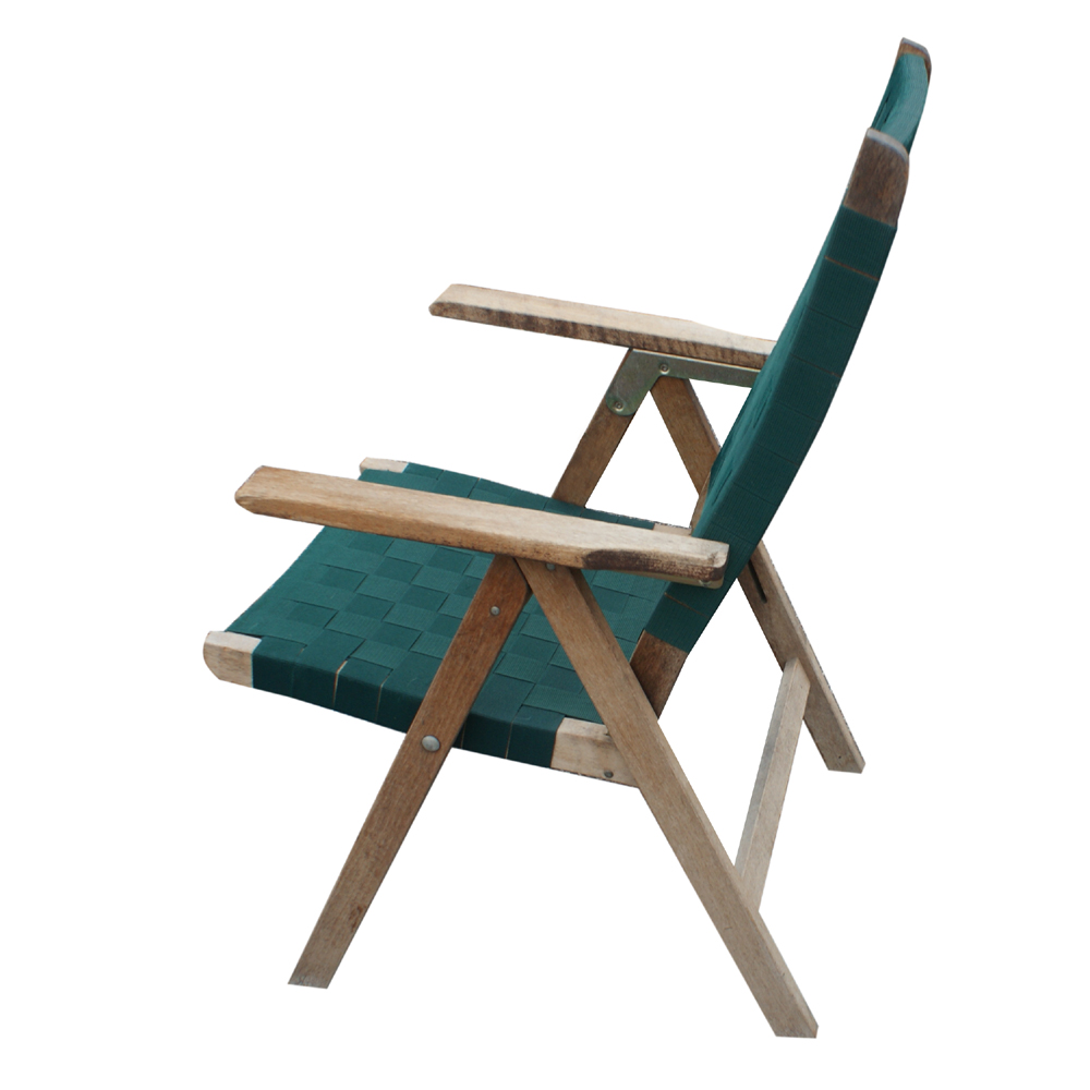 4 Vintage Outdoor Folding Chairs
