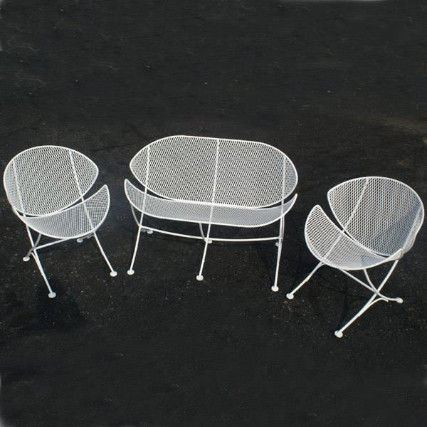 salterini outdoor furniture. John B. Salterini Emigrated From Italy More Than A Quarter Century Ago And Started Manufacturing Garden Furniture In Small Plant Brooklyn Outdoor