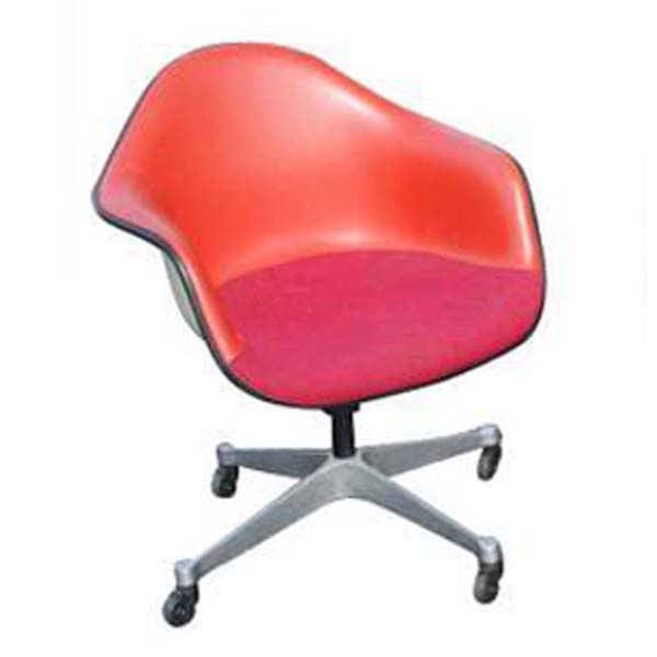 1 Herman Miller Eames Upholstered Arm Shell Chairsale Ebay