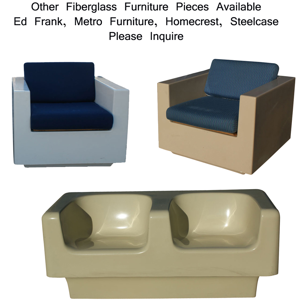 Additional Fiberglass Furniture Pieces Available