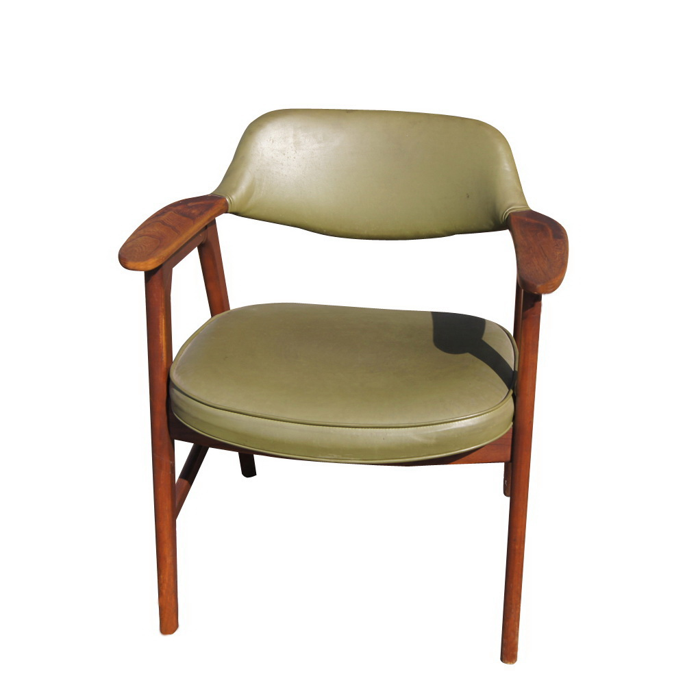 Mid Century Danish Teak Armchair Mr11756 Ebay