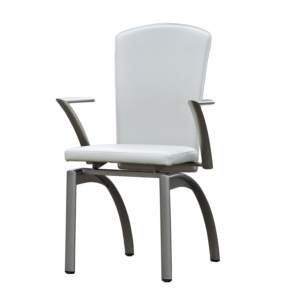 4 Frag Italian Leather Dining Chairs 80 Off