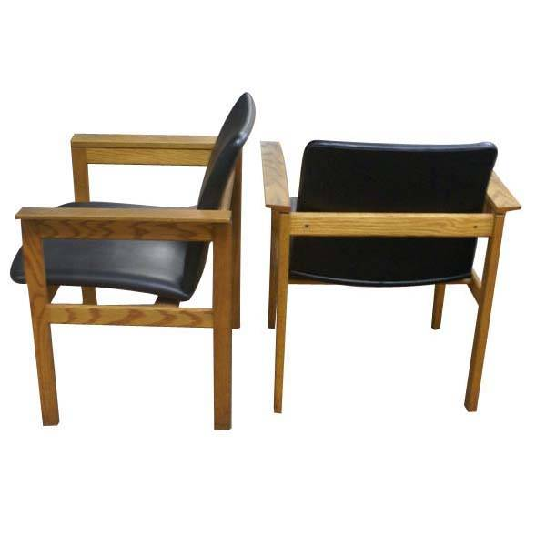 Metro retro furniture 1 jens risom knoll mid century modern chair - Knoll inc chairs ...