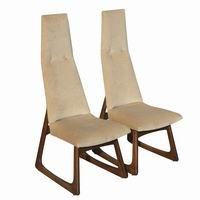 High Backed Dining Chairs Sale Seriena High Back Dining Chair in