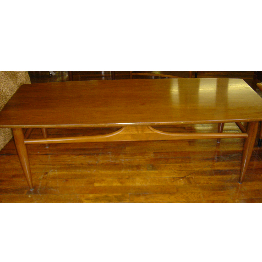 Details About Vintage Mersman Wood Coffee Table