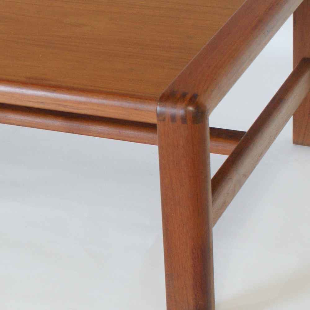Midcentury retro style modern architectural vintage for Table joints