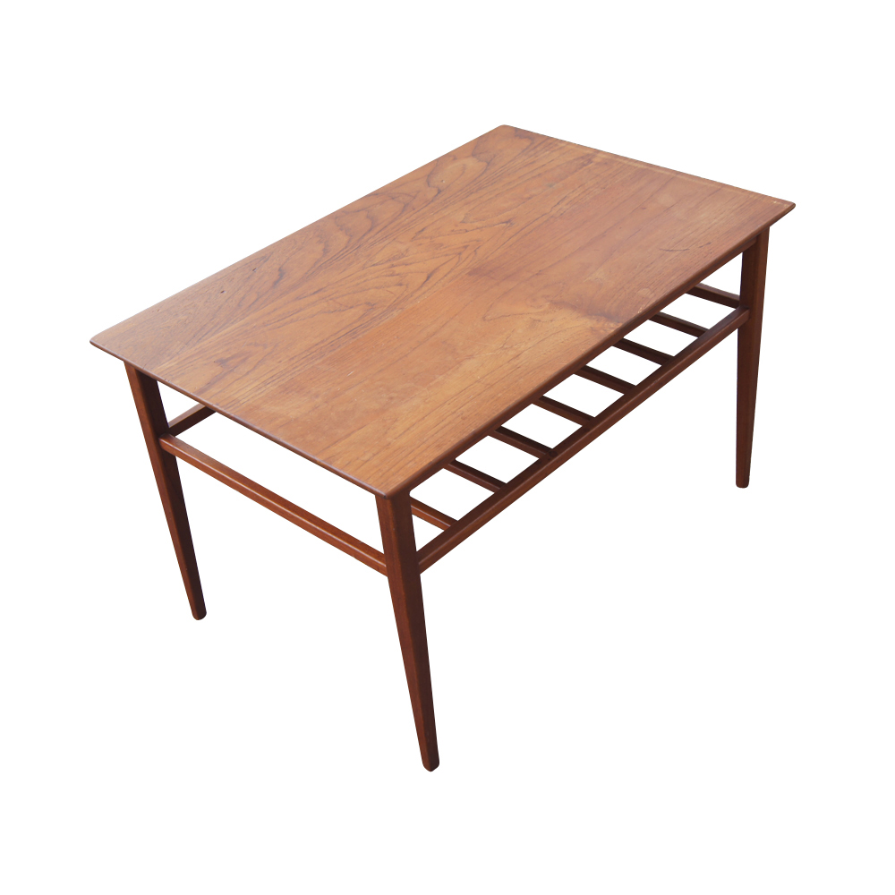 Mid Century Small Rectangular Coffee Table: Vintage Mid Century Modern Coffee Table