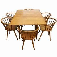 Conant Ball Russel Wright Dining Set Table Amp 6 Chair Ebay