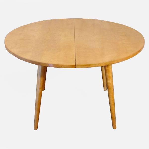 Dining Table Heywood Wakefield Round Dining Table