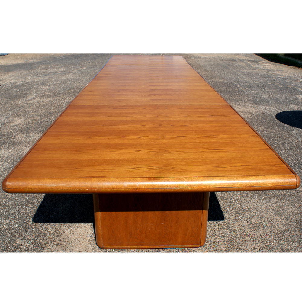 MidCentury Retro Style Modern Architectural Vintage Furniture From - Mid century conference table