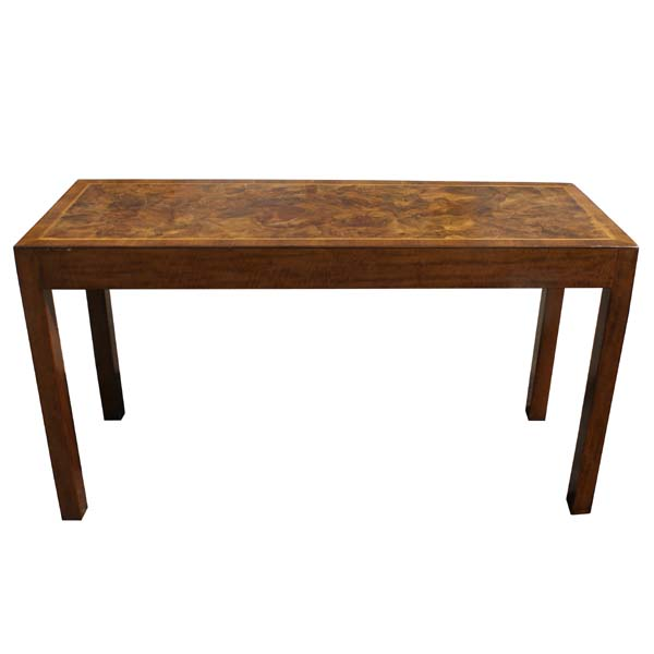 Midcentury retro style modern architectural vintage for 4ft sofa table