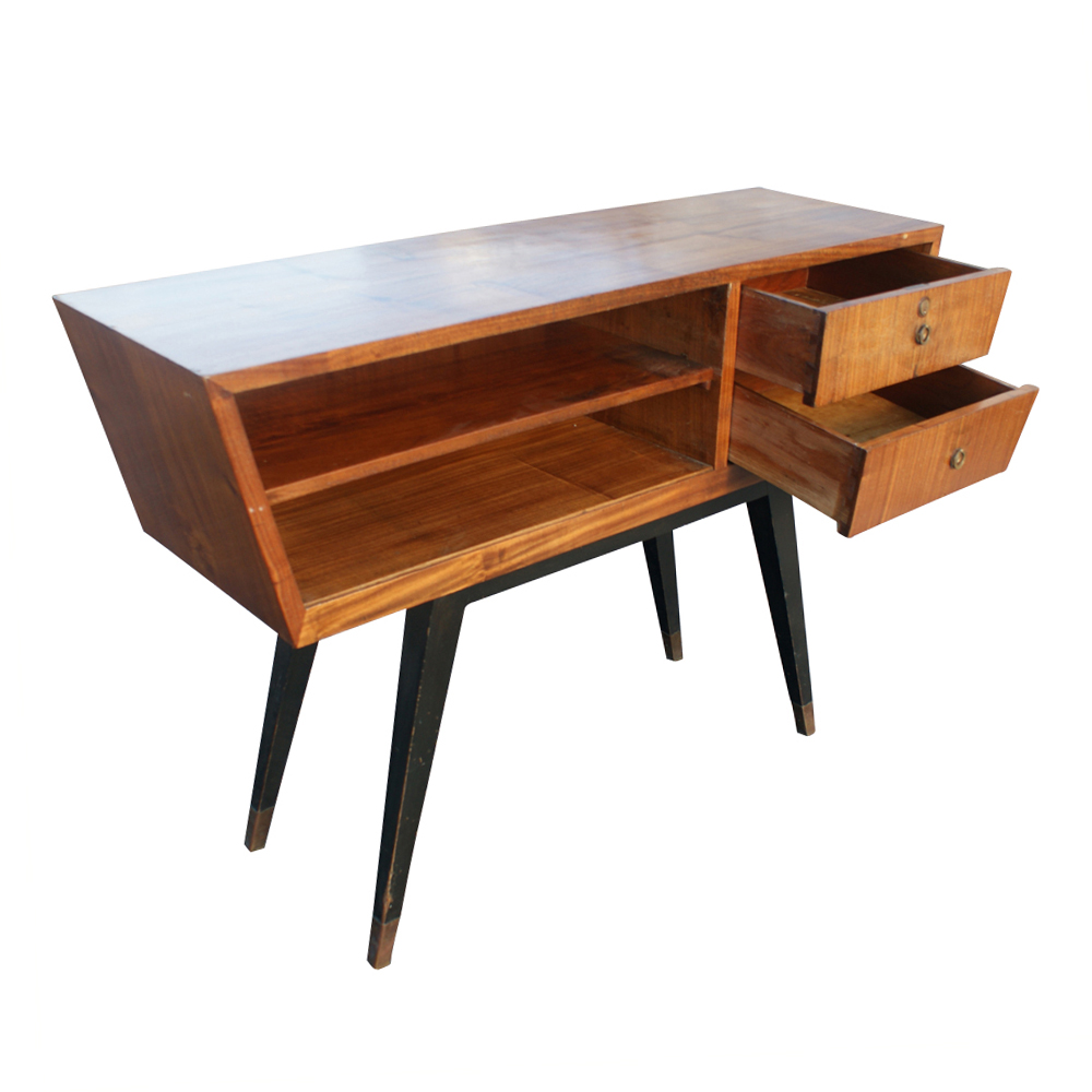 50s retro console table - photo #25