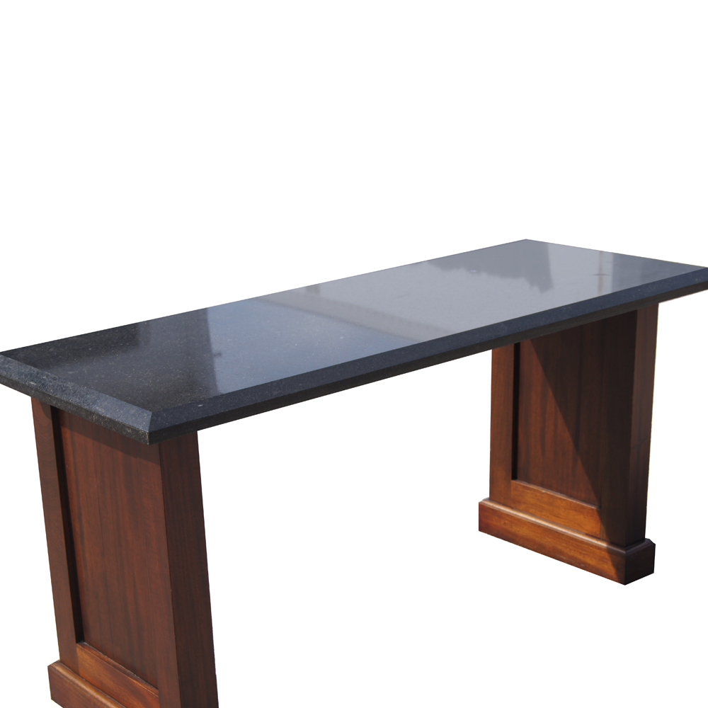 60 vintage granite console table ebay for Table console