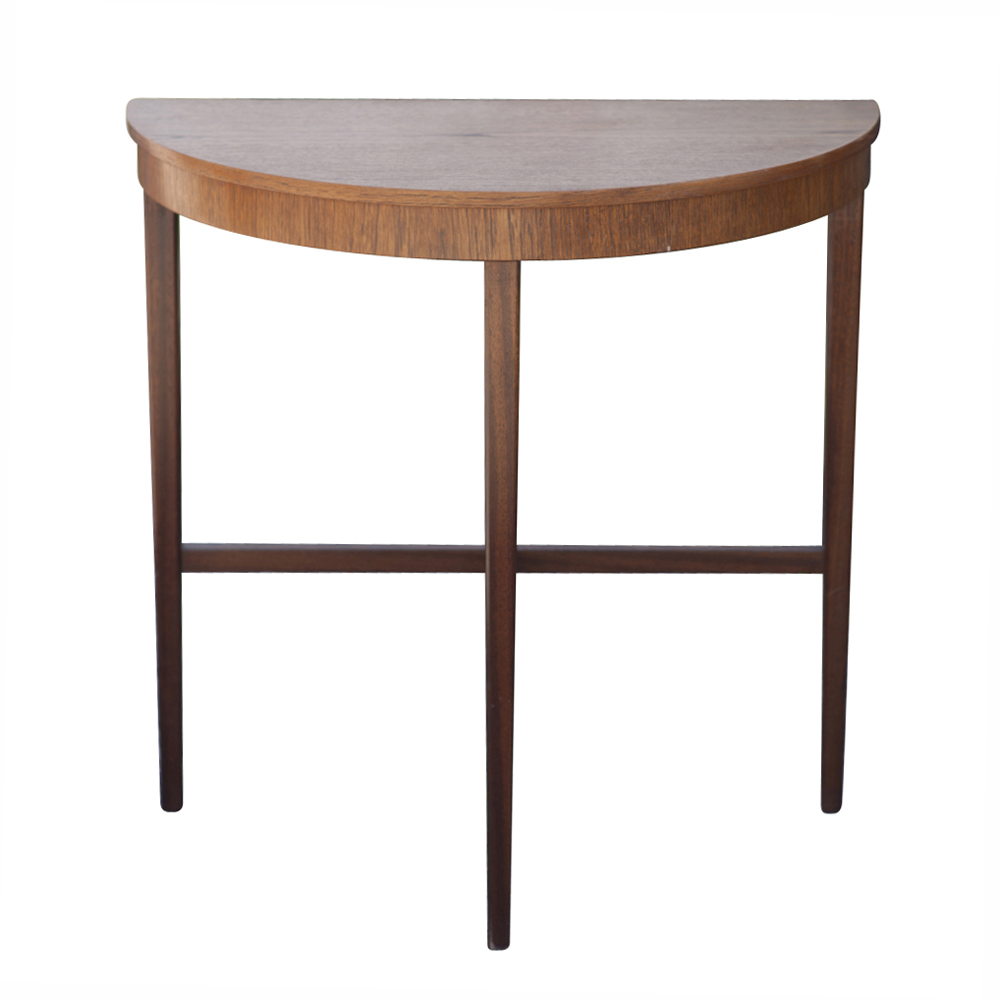 Details about Half Moon Demi Lune Console End Table