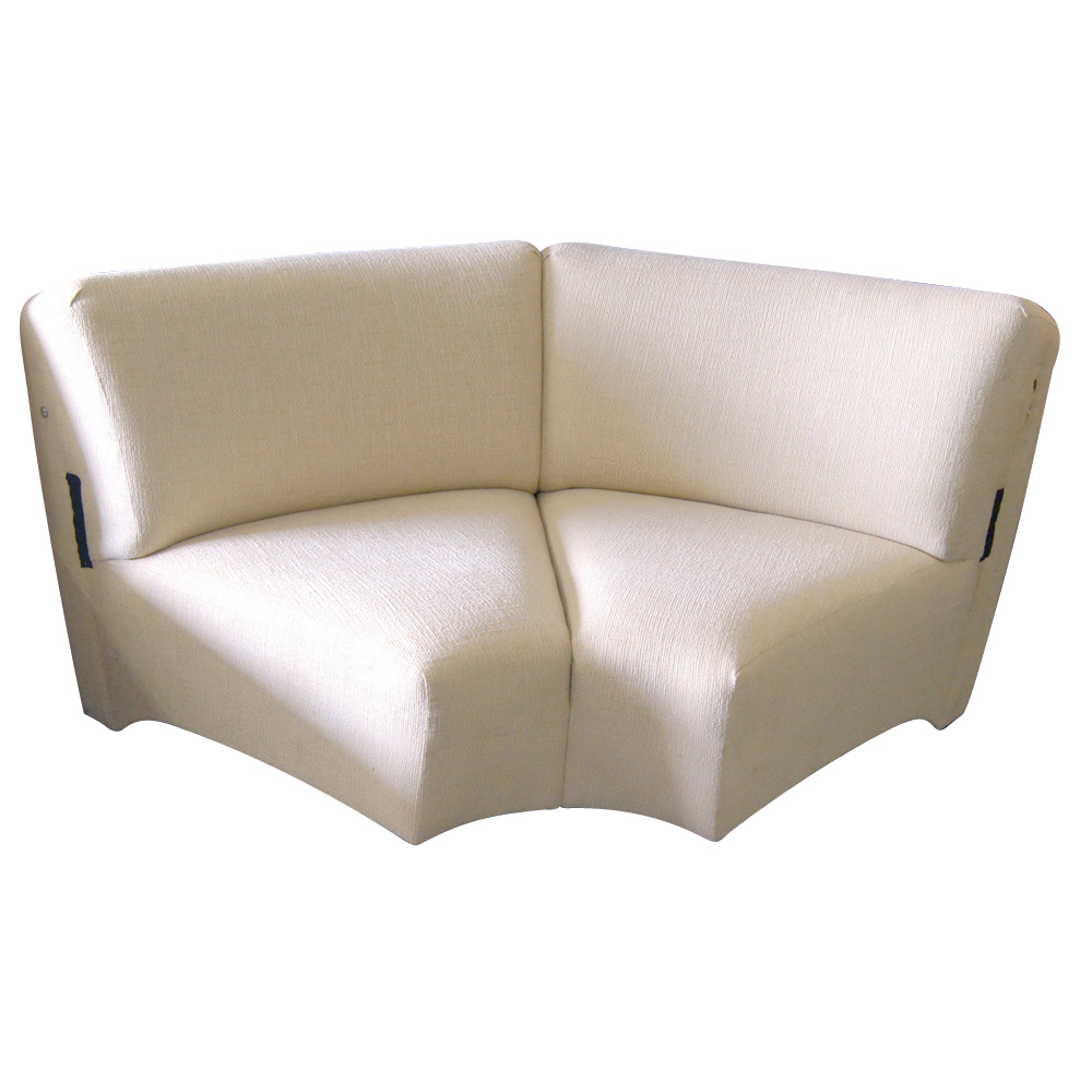 Midcentury retro style modern architectural vintage for Separate sectional sofa pieces