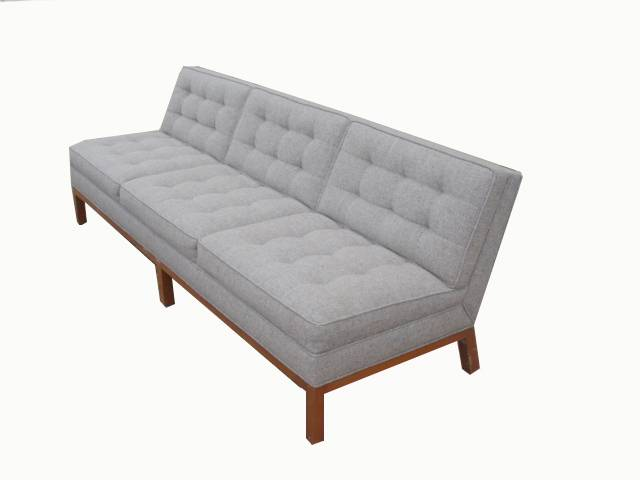 Armless Sofa For The Home Juxtapost