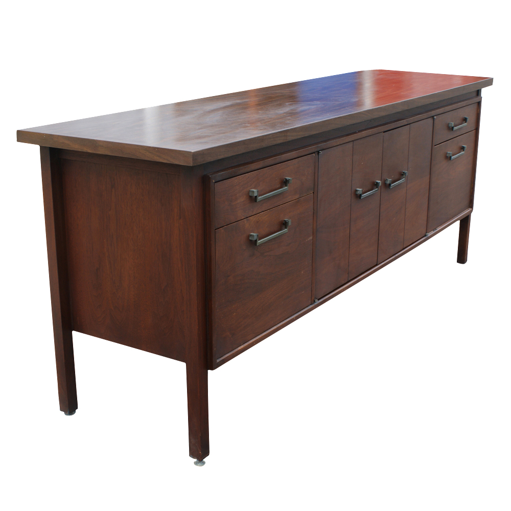 "Mid Century Modern Split Level 1956 Edition Better Homes: 74"" Mid Century Wood Credenza"