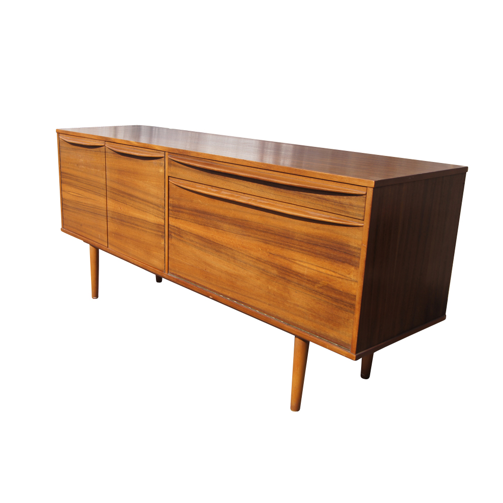 danish modern sideboard credenza 10 off sale mr13119 ebay. Black Bedroom Furniture Sets. Home Design Ideas