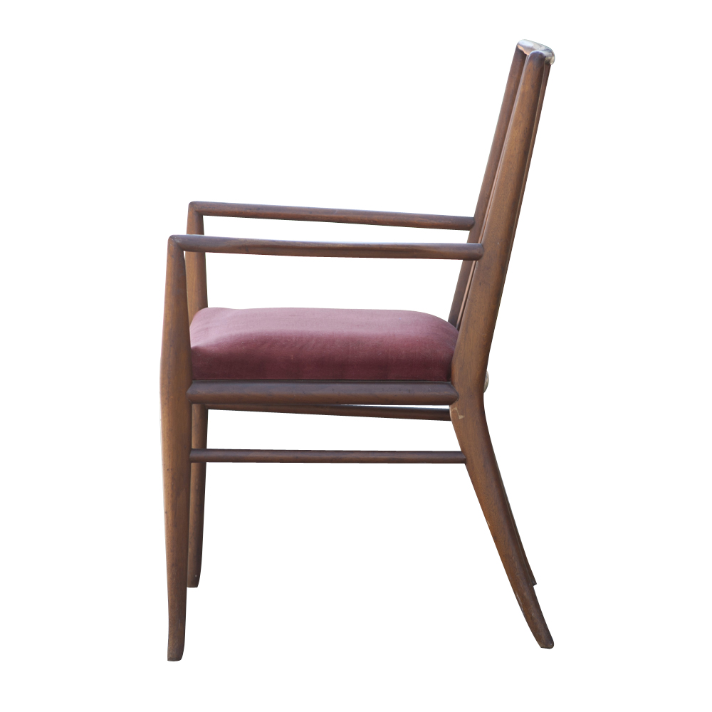 mid century modern danish dining chairs three side dining chairs and ...