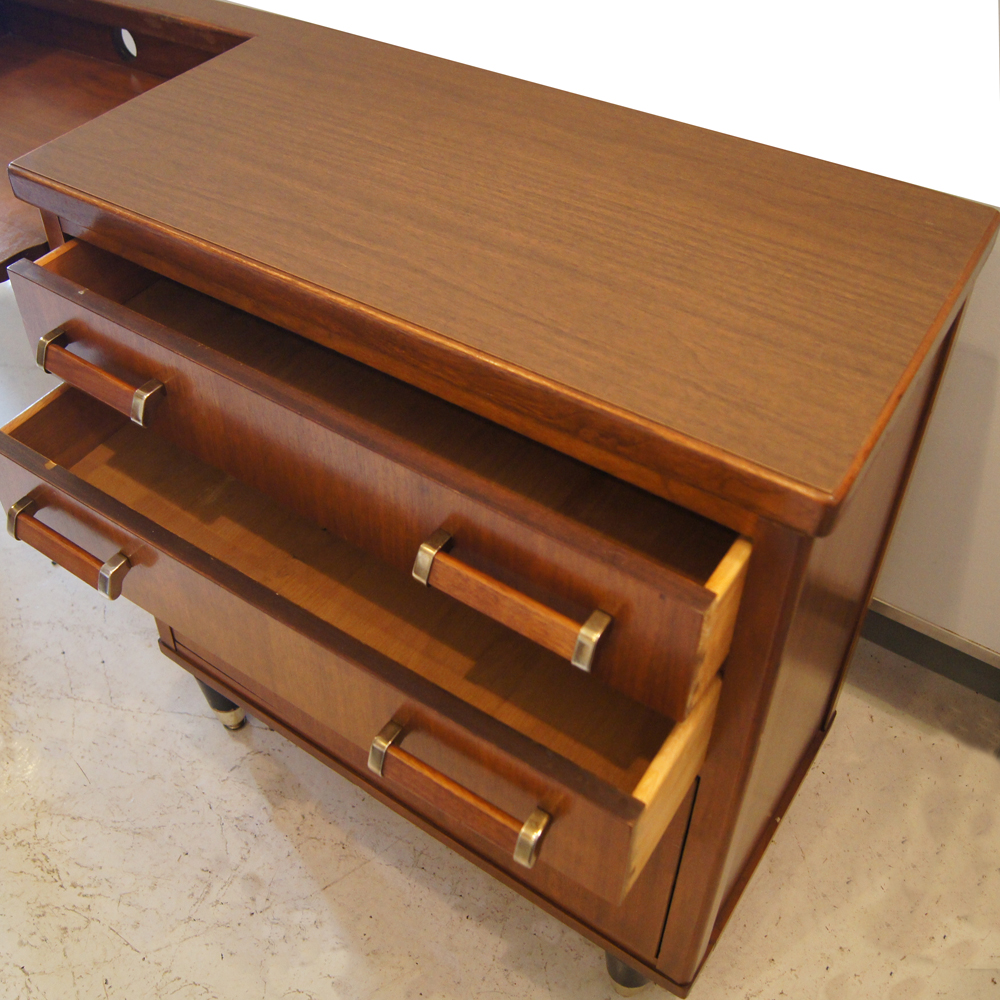 Narrow Credenza: MidCentury Retro Style Modern Architectural Vintage