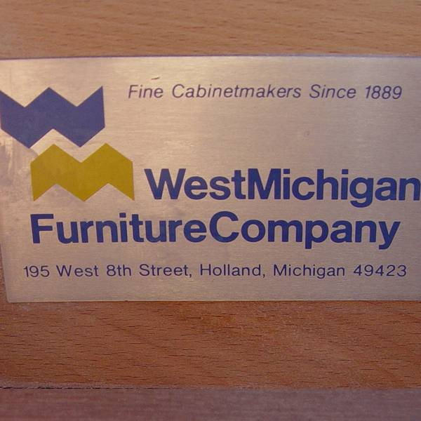 The West Michigan Furniture Company Was The First Large Scale Furniture  Manufacturer In Holland, And The Plant Was The First Local Factory With  Electric ...