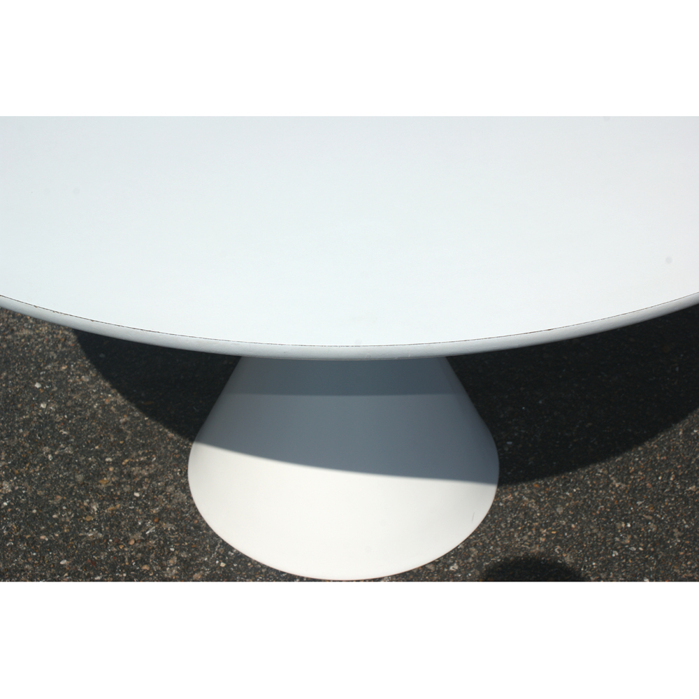 48 Hollen Saarinen Style Dining Round Table 4 Chairs 10 Reduced From Original 1595