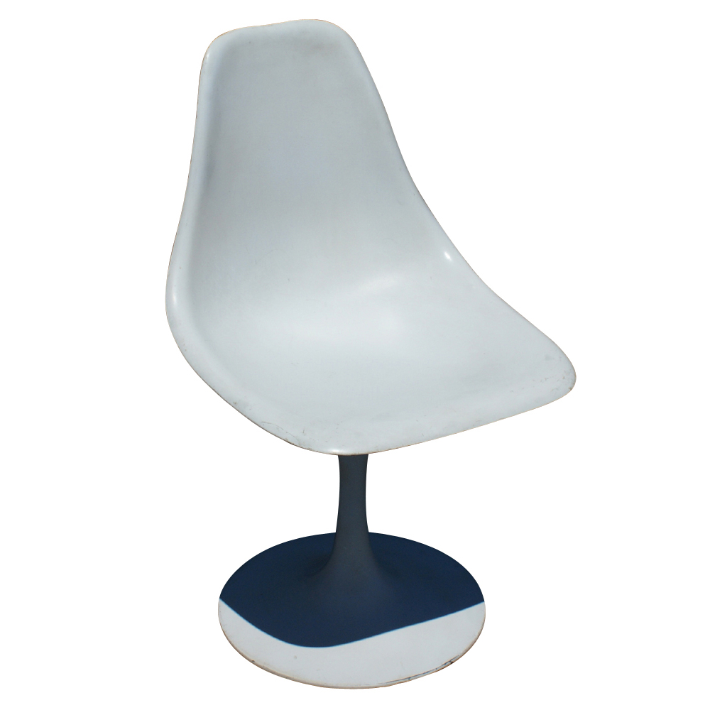 4 Eero Saarinen Style Tulip Side Dining Chairs