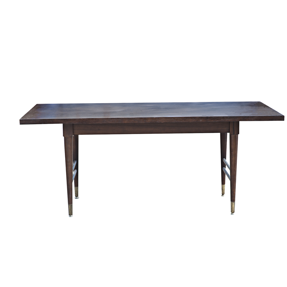 Vintage mid century modern dining table ebay for Modern dining furniture