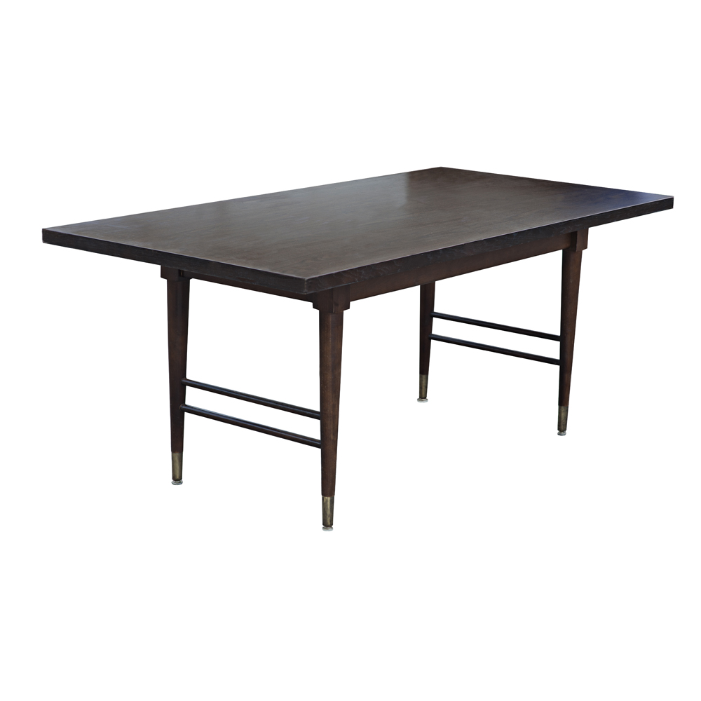 Midcentury retro style modern architectural vintage for Furniture dining table