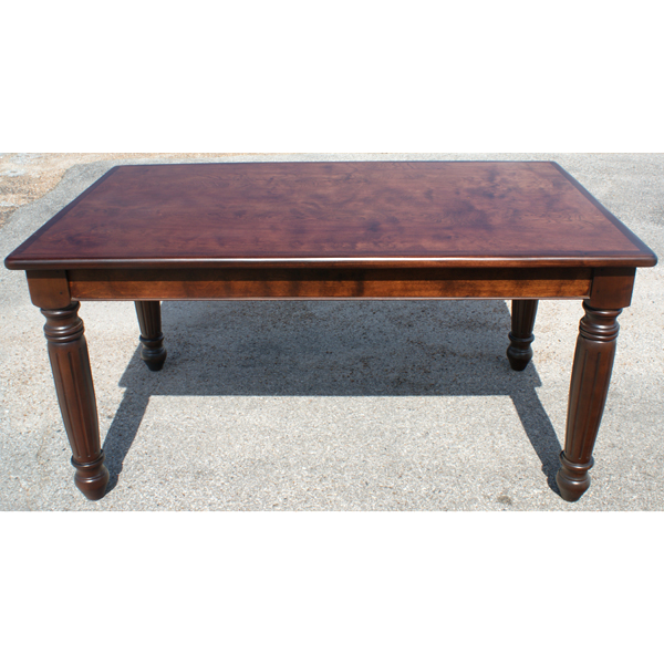 Cherrywood Dining Table: 5ft Dining Burl Cherry Wood Dining Table Desk