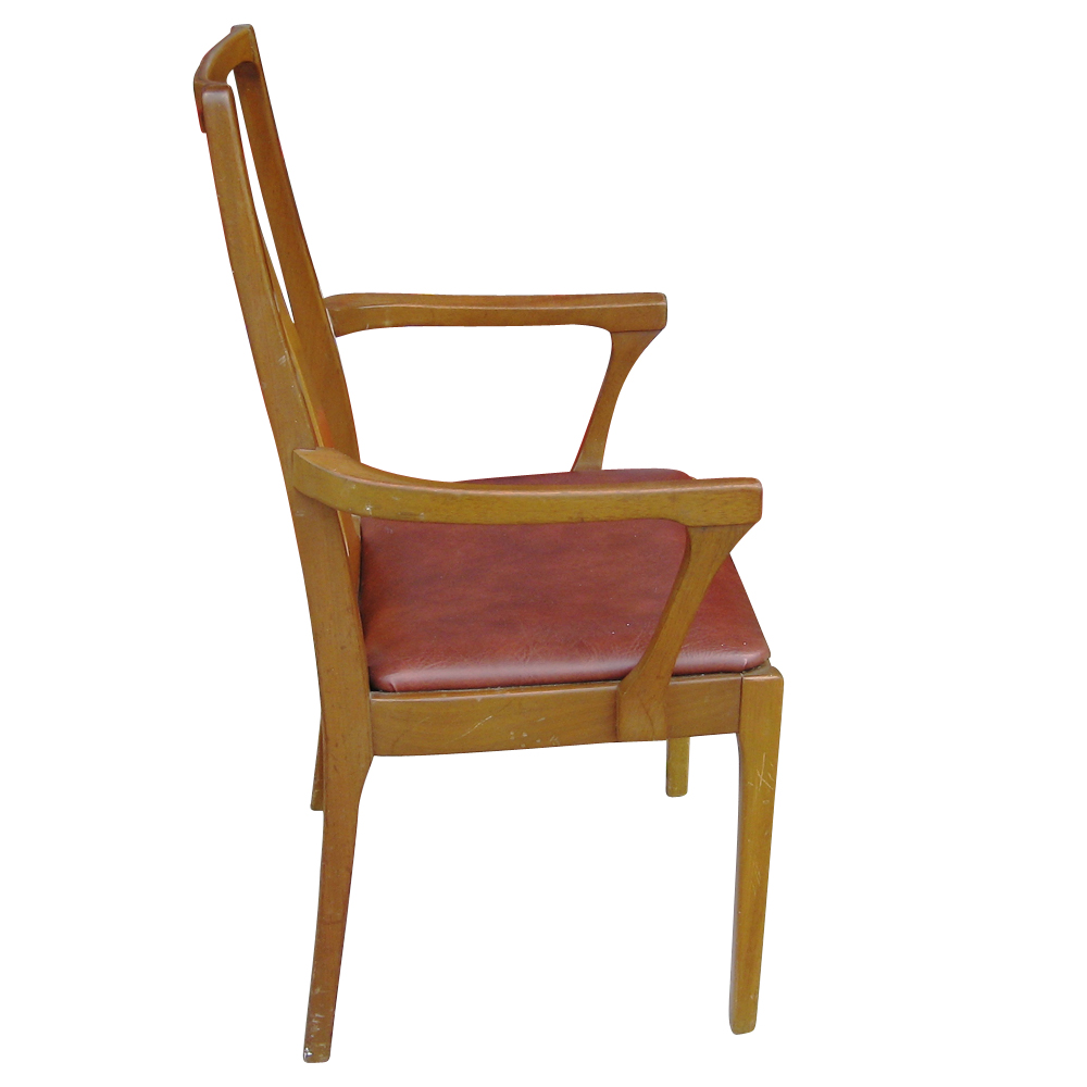 6 danish mid century modern dining chairs ebay for Dining designer chairs