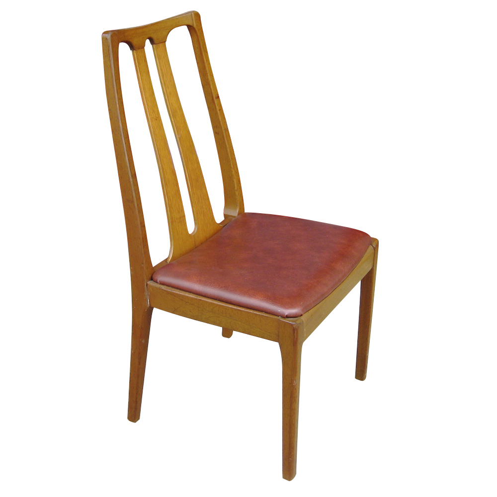 6 danish mid century modern dining chairs ebay for Modern dining furniture